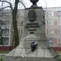 Антипин А.С. Памятник Ромуальду Траугутту, бронза, гранит. Установлен в городе Свислочь.