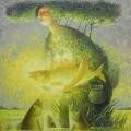 Голуб Владимир «Дух озера» Холст / масло, 85х90 см, 2008 г.