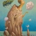 Голуб Владимир «Облачко» Холст / масло, 75х85 см, 2008 г.