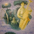 Голуб Владимир «Воздух» Холст / масло, 90х90 см, 2008 г.