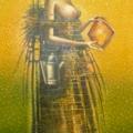 Голуб Владимир «Огонь 11» Холст/ масло, 2003 г.