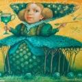 Голуб Владимир «Зеленое варенье» Холст/ масло, 70х60 см, 2007г.