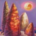 Голуб Владимир «Луна» Холст / масло, 70Х60 см, 2007 г.