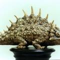 Одиноченко Е.П. «Рептилия. (фрагмент)». Глина, глазурь. 1050?C. 30/36/16