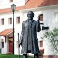 Пантелеев В. «Памятник Жана Эммануэля Жилибера», бронза, установлен в Гродно, 2007 г.