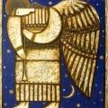 Сильванович А. «Ангел», холст/масло, 80х70
