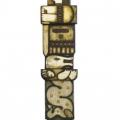Сильванович А. «Георгий и змей», росписная скульптура, высота 2 метра