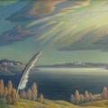 Сушкевич В.Б. «Прощание с летом», холст, масло, 55х70см