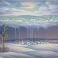 Сушкевич В.Б. «Зимние грёзы», холст, масло, 65х76см