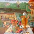 Соболев Ф.А. «Пейзаж с натюрмортом-2», холст, масло, 75х100см, 2006г.