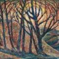 «Светило», доска/масло, 78х64 см. 1971 г.