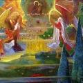 Янковский С.Н. «Дорога, которая ведет в храм», холст, масло, 150х170