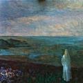 Янковский С.Н. «Таинственный вечер», холст, масло, 80х100.
